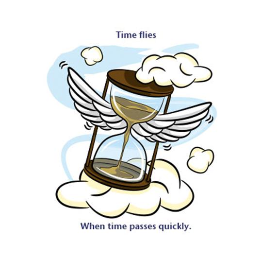 time flies görseli