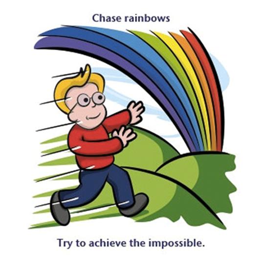 chase rainbows