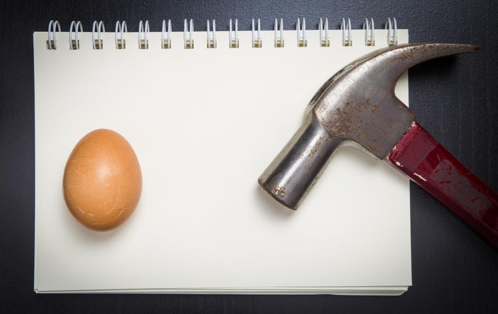 Yumurta kırmadan omlet yapamazsın