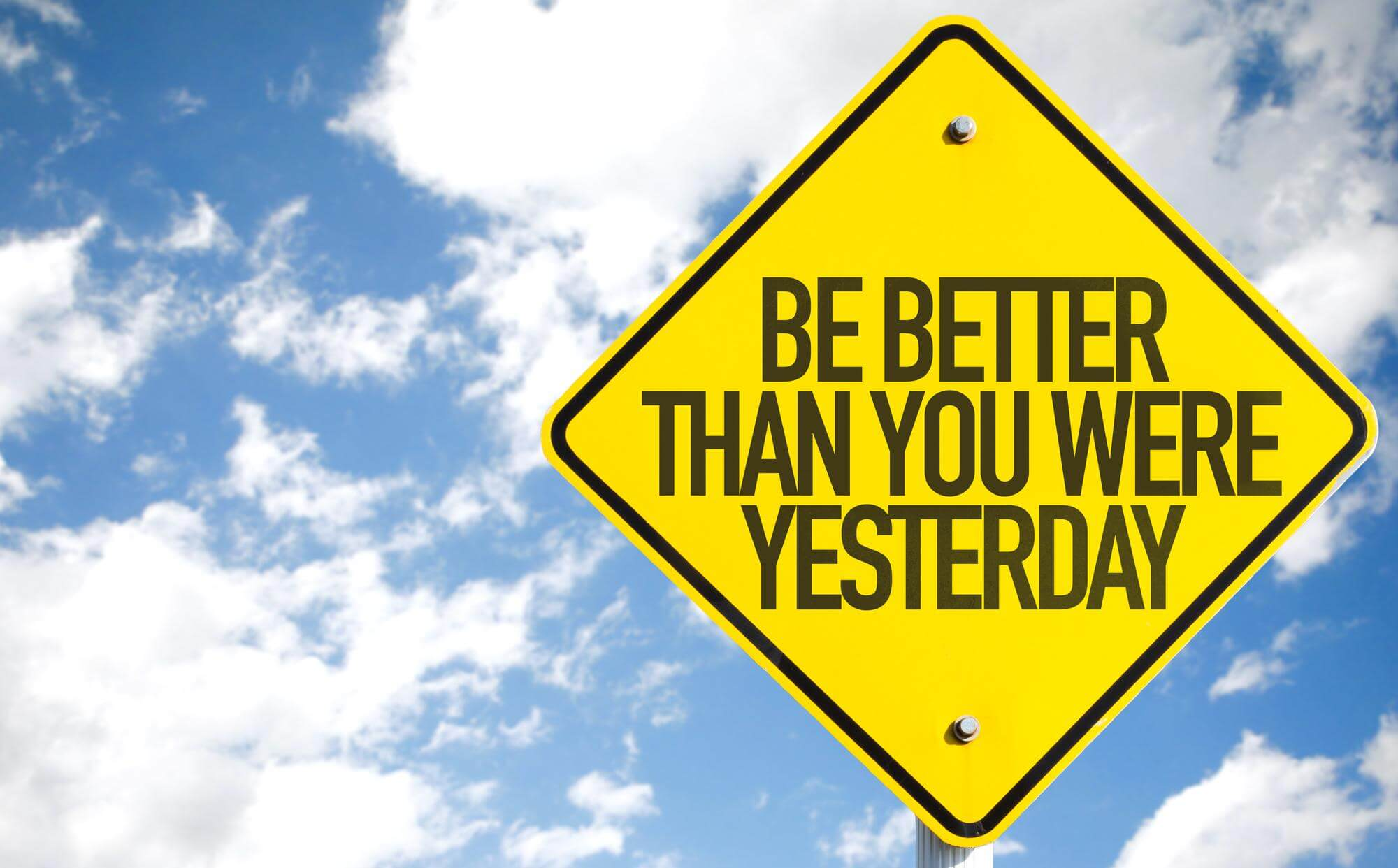 be better than you were yesterday gorseli